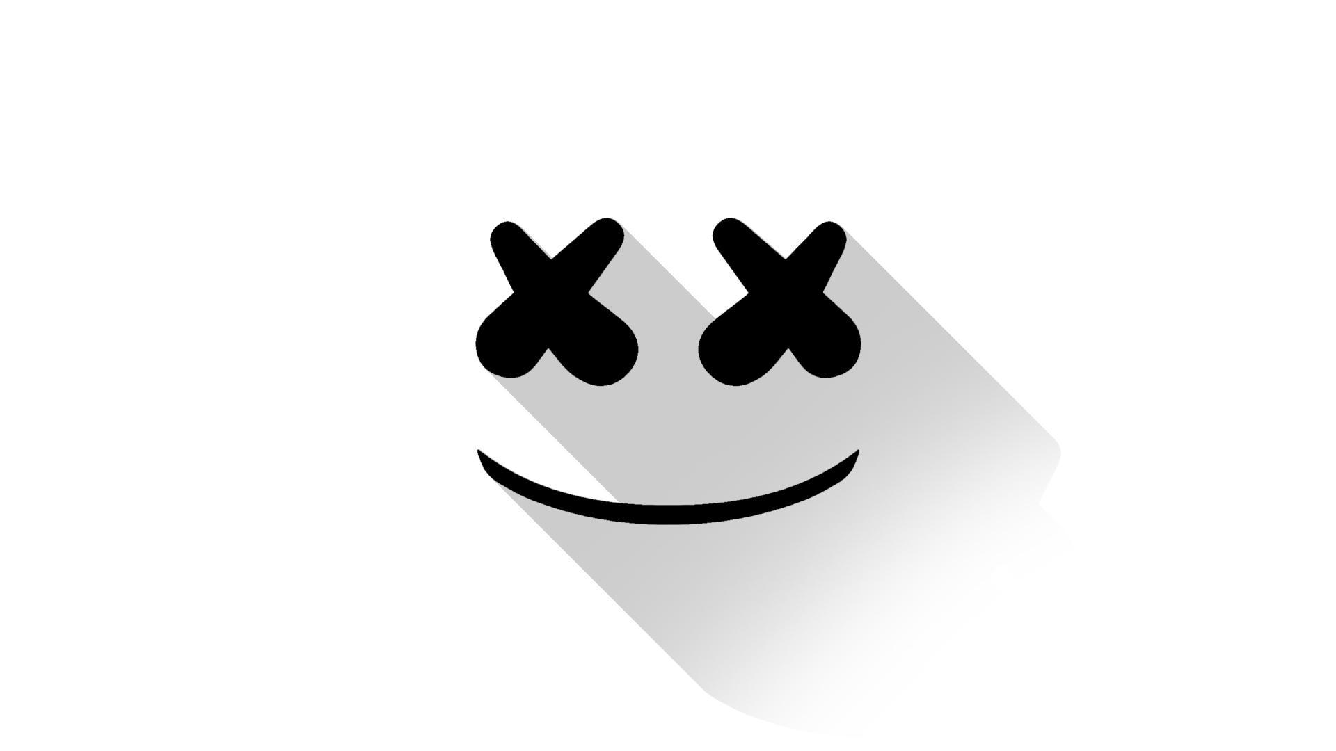 marshmello-dj-material-design-logo-to